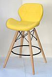 Полубарный стул Invar, желтый, фото 2