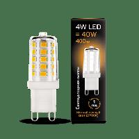 Лампа Gauss LED G9 AC185-265V 4W 2700K керамика