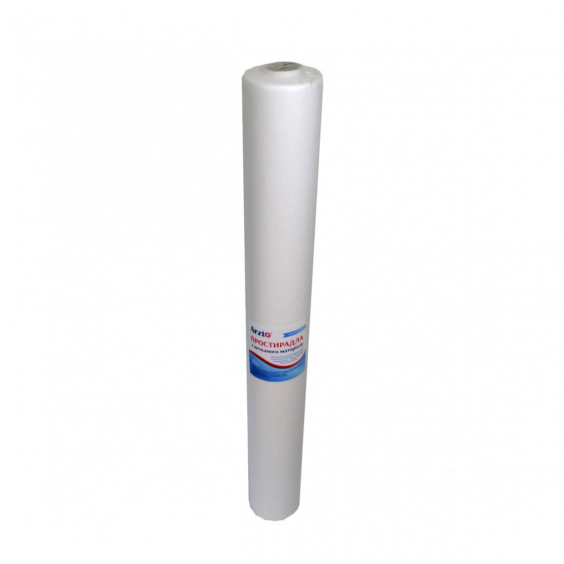 Рулон спанбонд Arzt plus 0,6x100 без перфорации (20 г/м2) белый