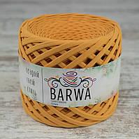 Трикотажная пряжа BARWA standart 7-9 мм. Абрикос  (apricot)