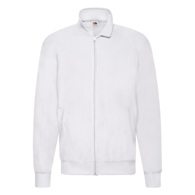 Чоловіча толстовка Lightweight Sweat Jacket (Колір: Білий; Розмір: 2XL)