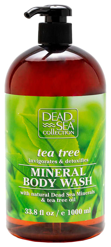 Гель для душа Dead Sea Collection с минералами Мертвого моря и маслом чайного дерева 1000 мл