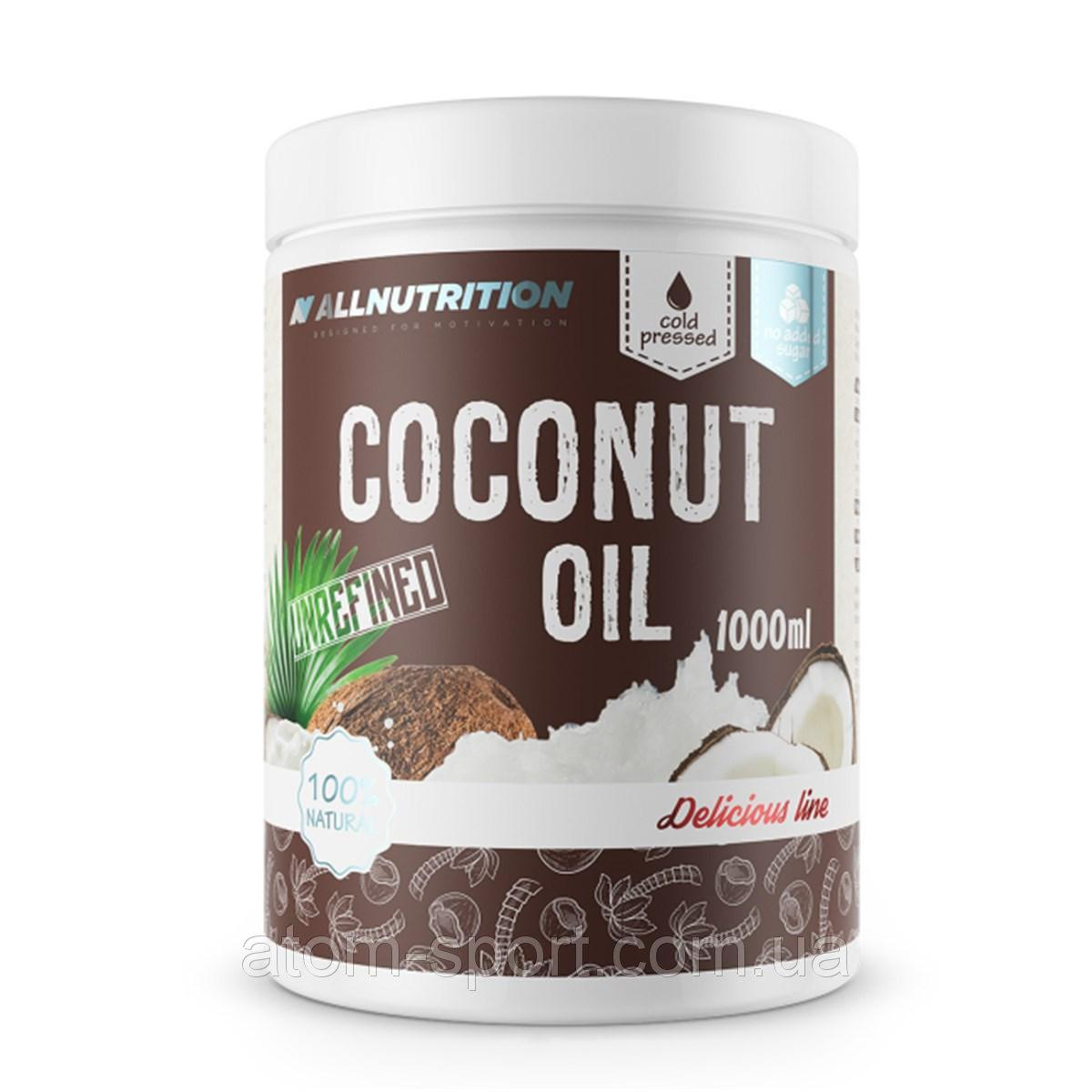 AllNutrition Coconut Oil 1000 ml нерафинированное