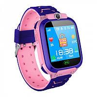 Детские смарт-часы с GPS 6 rose