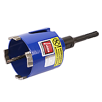 Алмзная коронка 72 мм для подрозетникова DISTAR SDS+