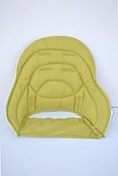 Дополнительный вкладыш для  чехла к стульчику для кормления Chicco Polly Magic 3 в 1 зеленый