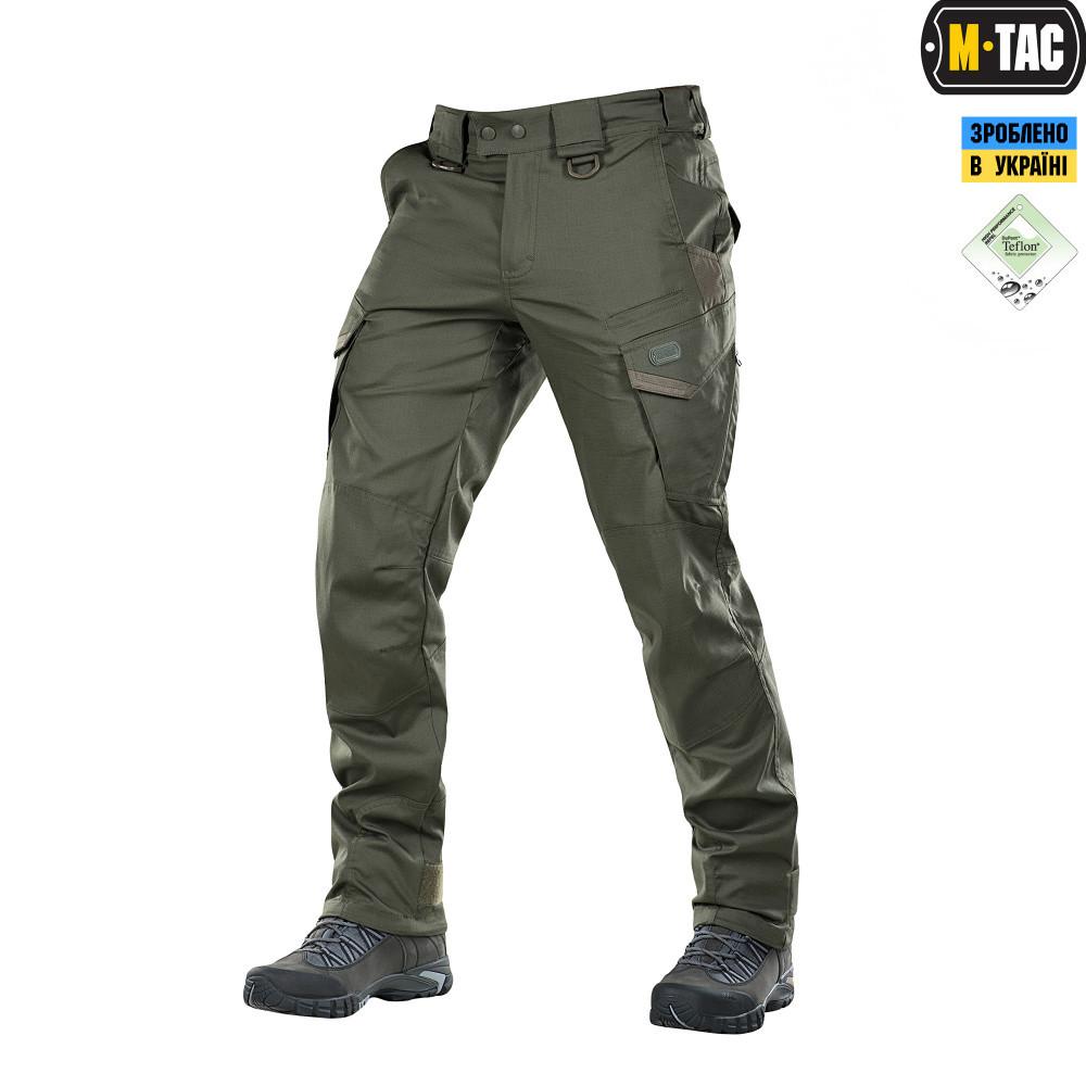 Тактичні штани M-Tac Aggressor Gen.II Flex Army Olive Size M