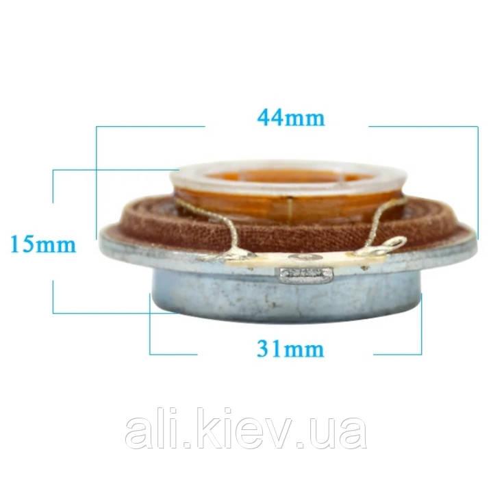 Вибродинамик 15 Вт 4 Ом4 4мм площинний вібраційний динамік резонансний динамік домашній кінотеатр вибро звук