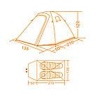 Палатка для кемпинга Airy 2, фото 4