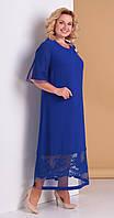 Сукня Novella Sharm-3301 білоруський трикотаж, волошка, 60