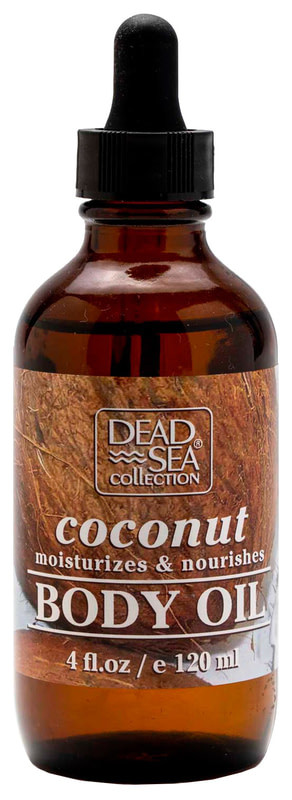 Масло для тела Dead Sea Collection с минералами Мертвого моря и маслом кокоса 120 мл