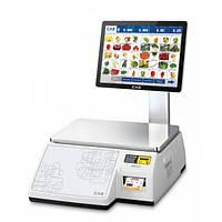 Весы с печатью этикетки CAS CL-7200S-2
