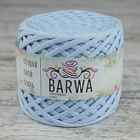 Трикотажная пряжа BARWA Premium standart 7-9 мм, цвет Небесный