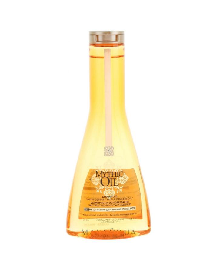 Купить Шампунь питательный для нормальных и тонких волос 250 млL'Oreal Professionnel Mythic Oil