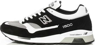 """Мужские кроссовки New Balance 1500 """"Black/White"""" ( в стиле Нью Баланс )"""