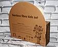 Посуда детская  MONKEY подарочный набор эко бамбук купить оптом со склада 7км Одесса, фото 3