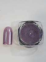 Новинка! Втирка для дизайна ногтей с микроблестками(фрезовый), фото 1