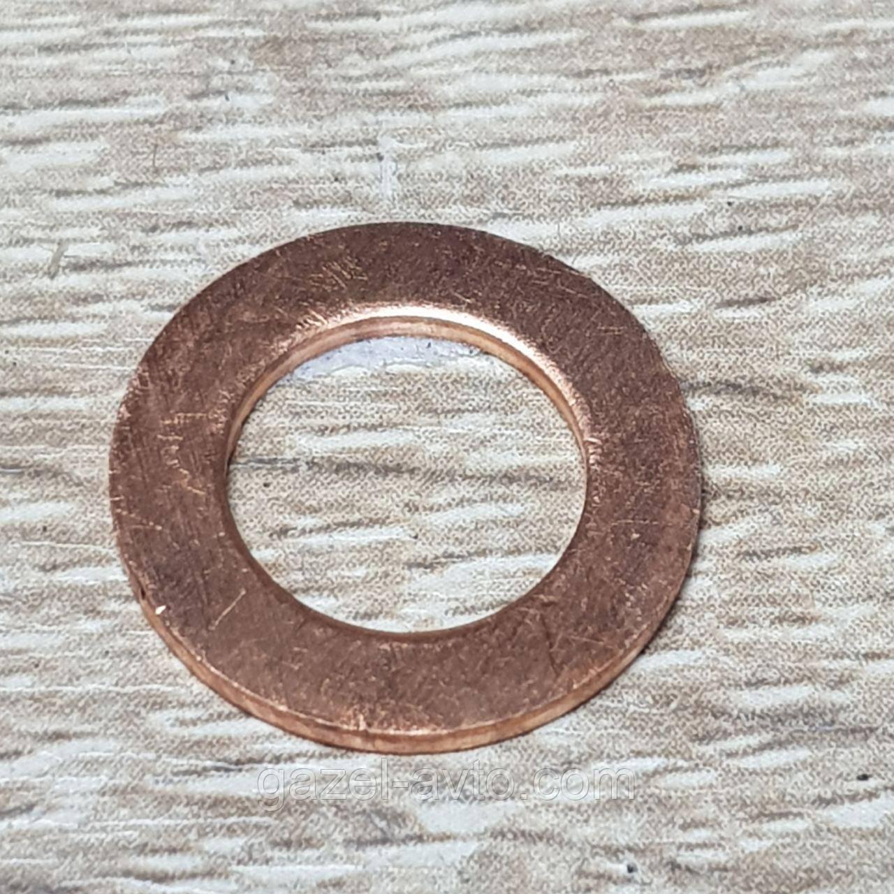 Прокладка трубки подачи масла на турбокомпрессор Газель Соболь NEXT,Бизнес дв.Cummins ISF 2.8 (покупн. ГАЗ)
