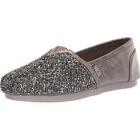 Лоферы BOBS from SKECHERS Luxe Bobs Pewter - Оригинал