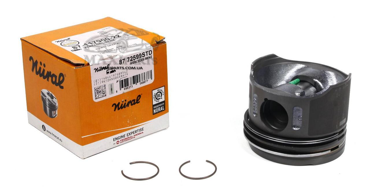 Поршень MB Sprinter/Vito CDI 88.00mm/STD прямой шатун, палец 28мм 87-72599 STD