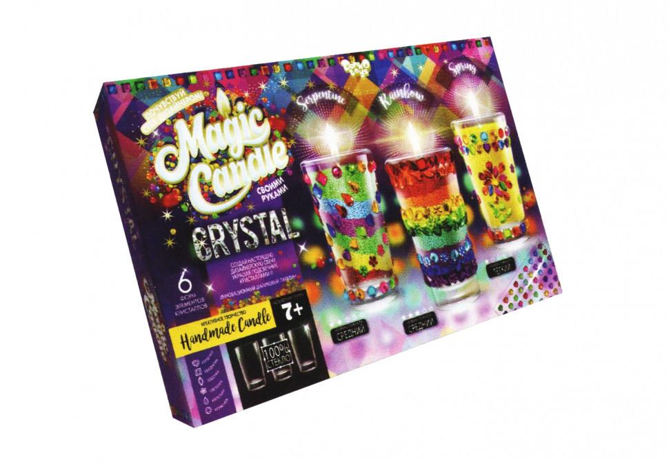 Парафиновые свечи с кристалами 7320DT MAGIC CANDLE CRYSTAL