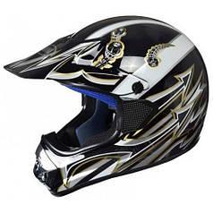 Шлем Awina AIX-003 Black/White