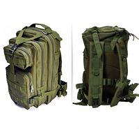 Тактический штурмовой военный рюкзак на 43-45 Traum литров зеленый, фото 1