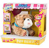 Интерактивный щенок Ролли Люблю целоваться Moose Little Live Pets My Kissing Puppy Rollie 28669