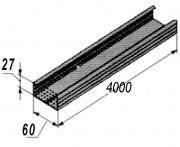 Профиль для потолка. CD-4м.(60x27x0.40) BudmonsteR