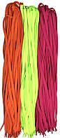 Шнурки 100см Микс №2 плоские 7мм Kiwi