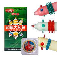 Презервативы с усиками (6 шт разных в упаковке)