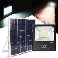 LED прожектор на солнечной батарее VARGO 25W с пультом (VS-109045)