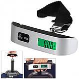 Весы электронные кантер для багажа S 004 до 50кг, фото 4
