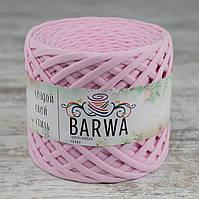 Трикотажная пряжа BARWA light 5-7 мм, Светло-розовый (light pink)