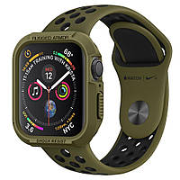 Чехол Spigen для Apple Watch 5/4 (40mm) Rugged Armor, Olive Green (061CS26014)