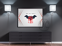 Плакат Batman v Superman (Бэтмен против Супермена) | Постер Бэтмен против Супермена