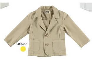 Дитячий піджак для хлопчика Святковий одяг для хлопчиків iDO Італія 4Q287 / 00 Бежевий