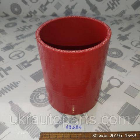 Патрубок интеркулера MAN TGA 88х120 (СИЛИКОН) (КРАСНЫЙ) (QDAPC) (81963010600)