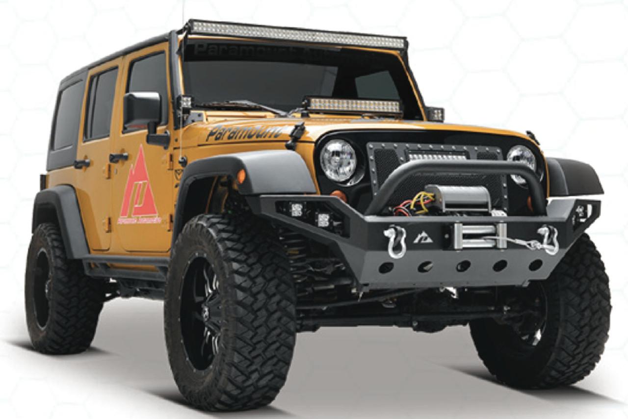 Силовой передний бампер LP2 Jeep Wrangler JL