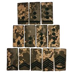 Погоны и шевроны армейские