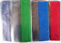 Обкладенки для підручників універсальні ПВХ TASCOM 23,5х34,5см 100 мкм