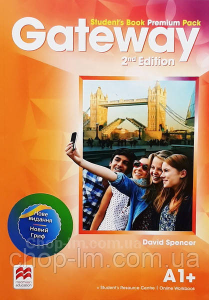 Gateway 2nd/Second Edition A1+ Student's Book Premium Pack (Edition for Ukraine) / Учебник
