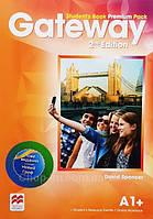 Gateway 2nd/Second Edition A1+ Student's Book Premium Pack (Edition for Ukraine) / Учебник