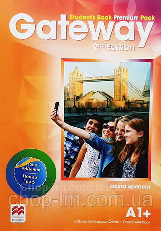 Gateway 2nd/Second Edition A1+ Student's Book Premium Pack (Edition for Ukraine) / Учебник, фото 2