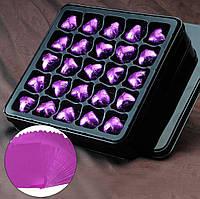 Фольга для конфет 8*8 см 100 шт