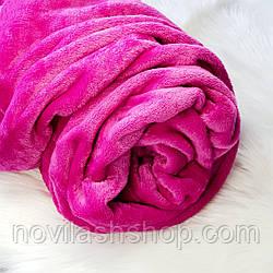 Чехол на кушетку из махры (70х190 см)Малиновый цвет