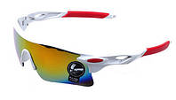 Мужские солнцезащитные очки спортивные с желтым напылением, Очки для спорта