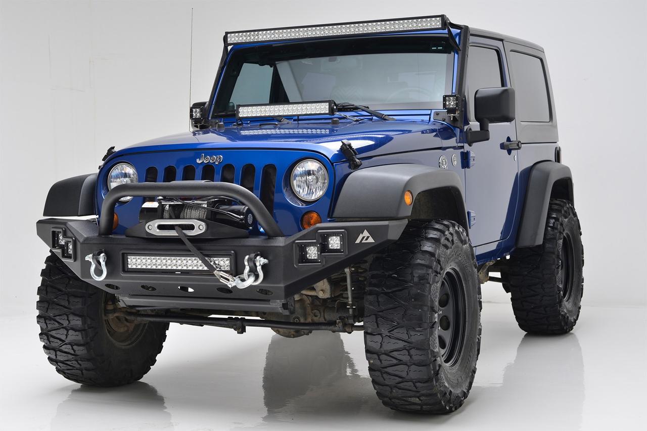 Силовой передний бампер LP Jeep Wrangler JL