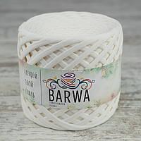 Трикотажная пряжа BARWA light 5-7 мм, Молочный (lactic)