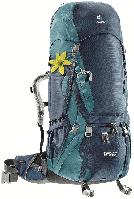 Рюкзак туристический Deuter Aircontact 70+10 SL midnight-denim (3320616 3354)
